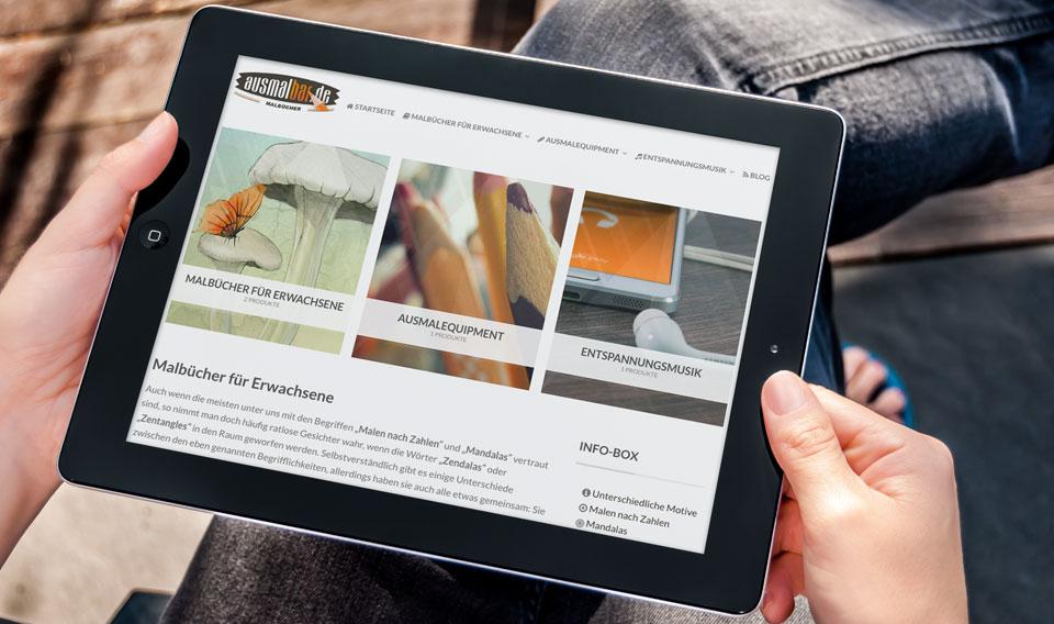 Webseiten Neuerstellung